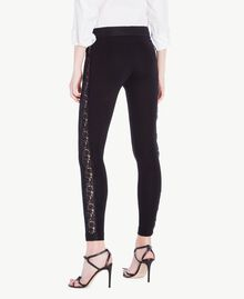 Lace leggings Black Woman PS828F-03