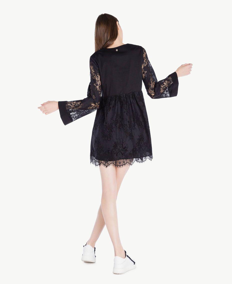 Robe dentelle Noir Femme SS82J5-03