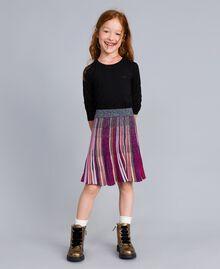 Jupe en lurex multicolore Multicolore Lurex Enfant GA83KQ-0S