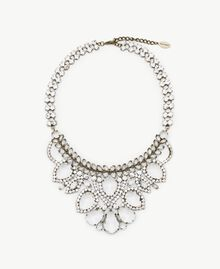 Rhinestone choker Crystal Woman AS8P9N-01