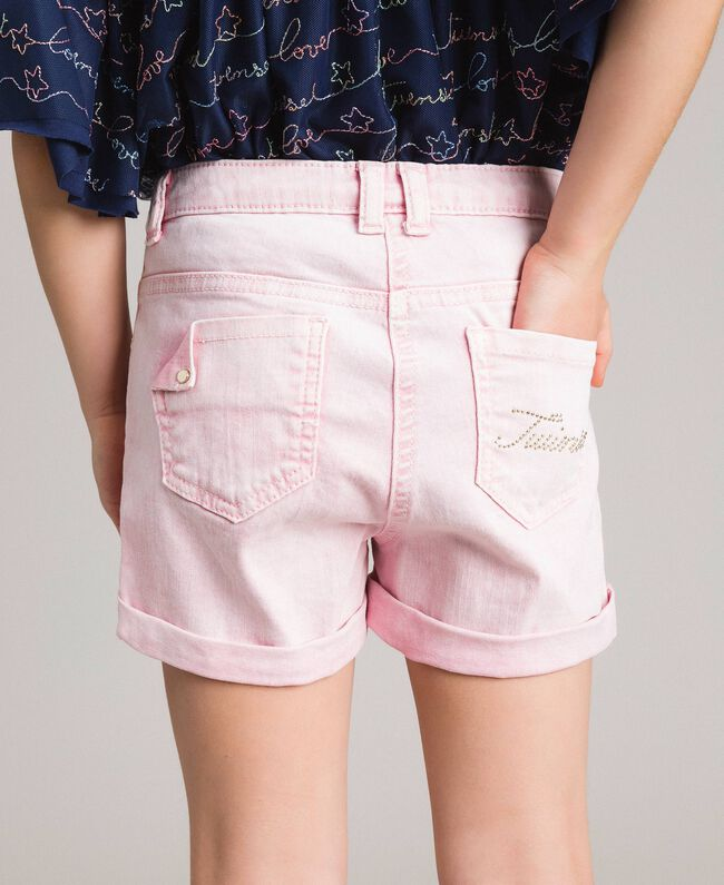 "Délavé-Bull-Shorts ""Crystal Pink"" Kind 191GJ2491-04"