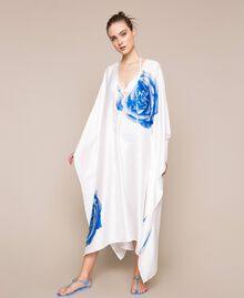 Kaftan with print White Rose Print Woman 201LB28NN-02