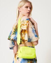 "Padded shoulder bag ""Led"" Yellow Woman 211TD8050-0S"