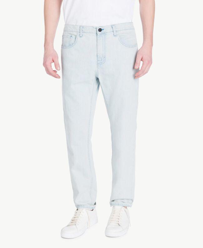 5-Pocket-Jeans Denimblau Mann US82BP-01