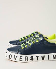 Sneakers mit Logo Blackout Blau Frau 202LIPZCC-01
