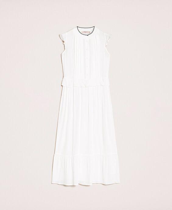 Длинное крепдешиновое платье