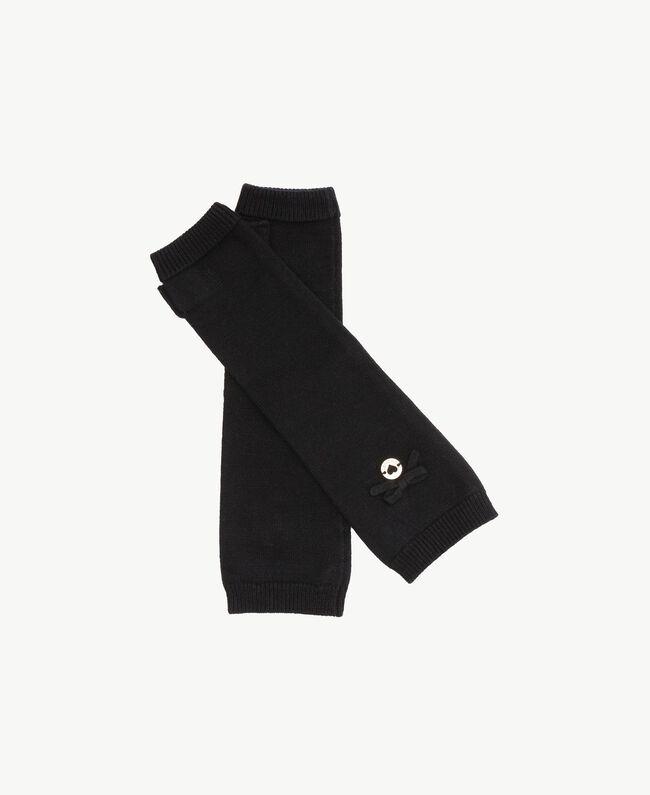 Bow sleeves Black GA7GAB-01