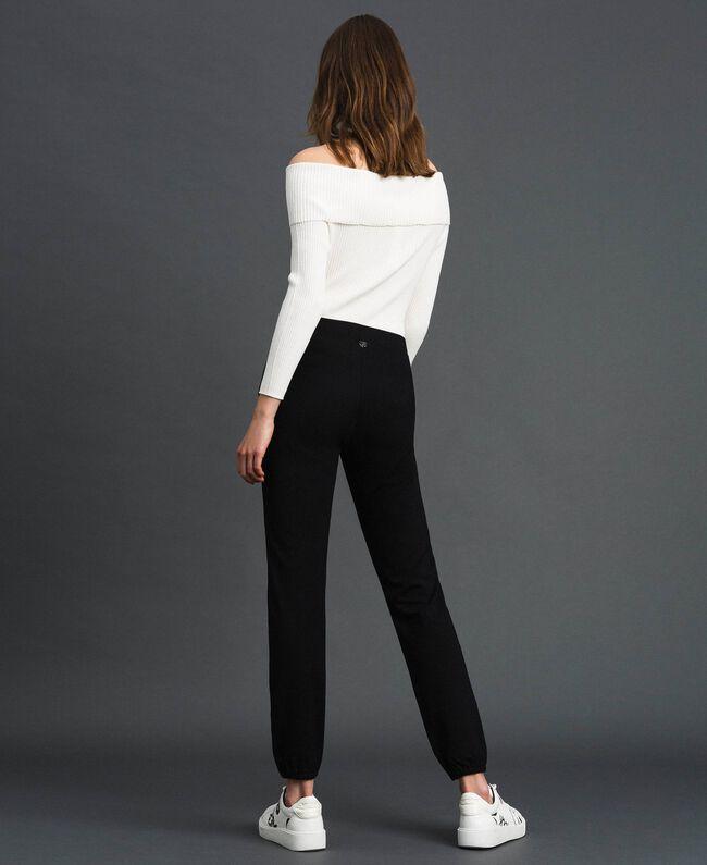 Jogging trousers Melange Grey Woman 192LI2UEE-04