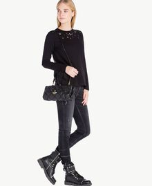 TWINSET Quilted clutch bag Black Female VA7PCT-05