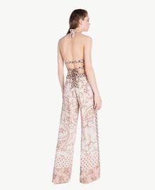 Pantalon imprimé Imprimé Patch Rose Vegas Femme BS8AHH-04