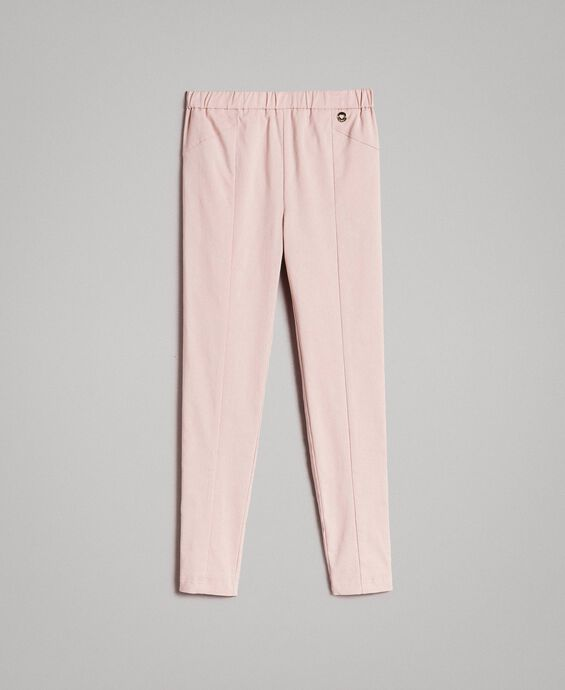 Cotton skinny trousers