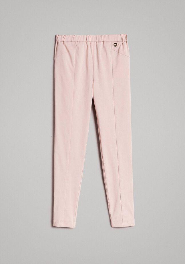 Pantalon skinny en coton