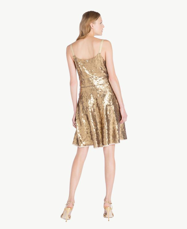 TWINSET Metallic-Sandalette Gold Gelb Frau CS8TBG-06