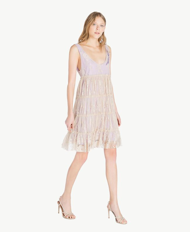 TWINSET Sandales strass Beige Nude Femme CS8TDQ-05