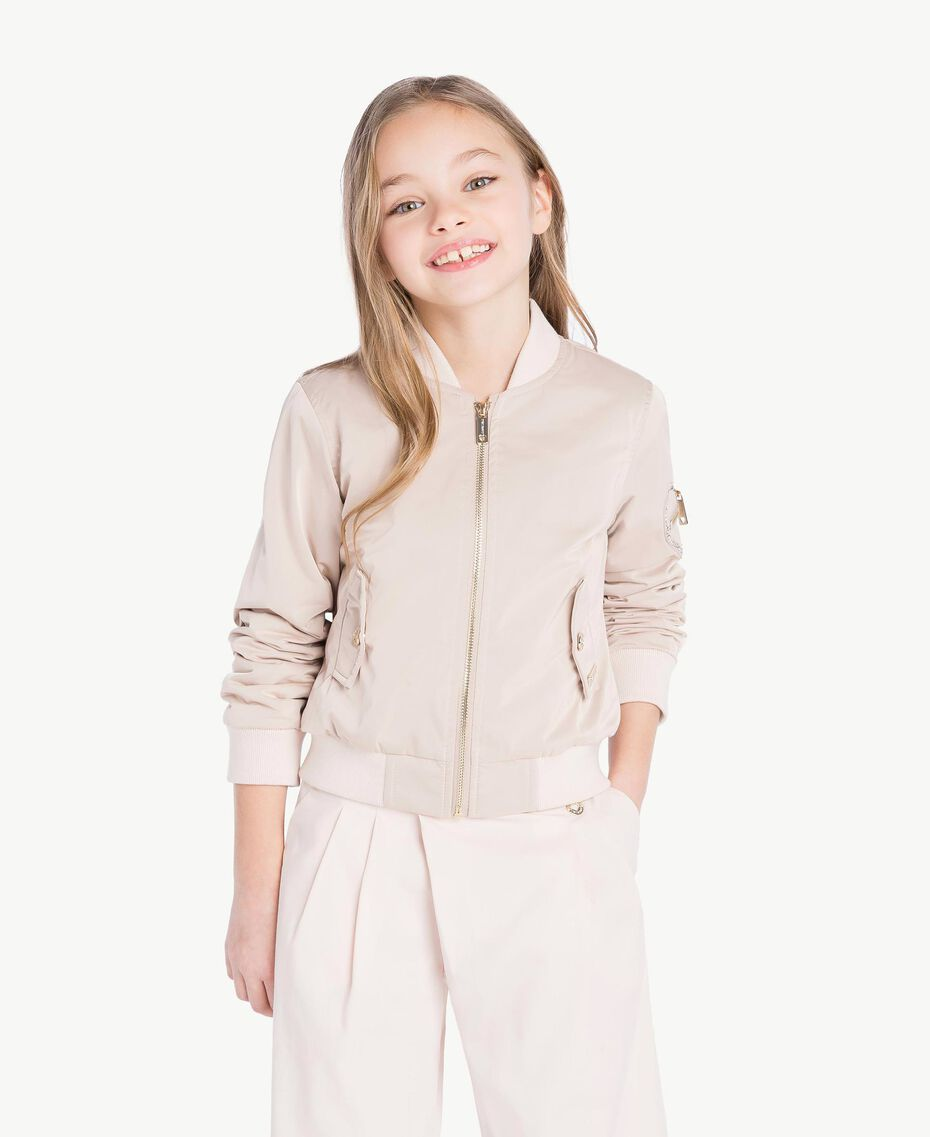 Duchess bomber jacket Bud Pink Child GS82VA-02