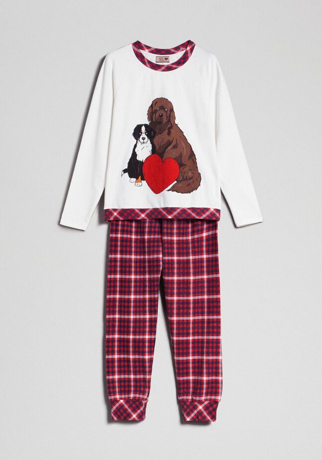 "Pyjama ""Tury x Twinset"" mit Print"