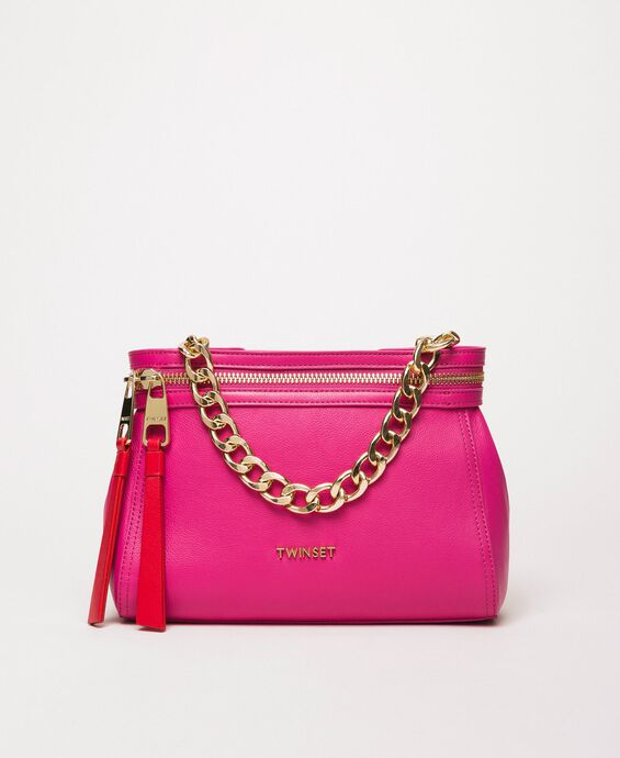 Small faux leather New Cécile bag