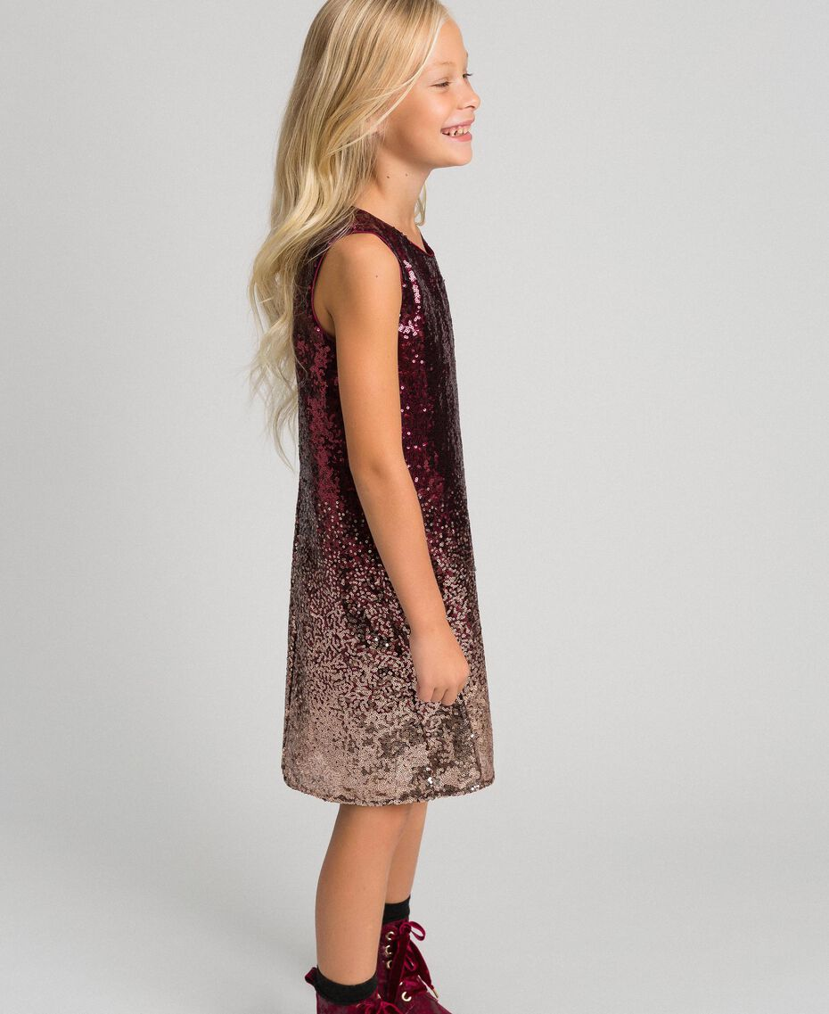 Fadeout sequin dress Fadeout Ruby Red Child 192GJ209A-02