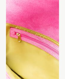 TWINSET Double flap shoulder bag Multicolour Kiwi / Provocateur Pink / Fuchsia Woman OS8TDP-04