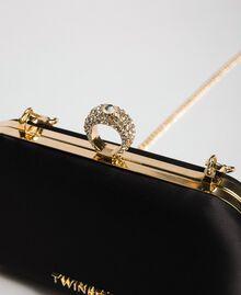 Атласная сумка-пошет Черный женщина 192TQ706A-03