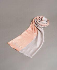 "Lurex-Jacquard-Schal ""Bellini"" Pink Frau 191TA4366-01"