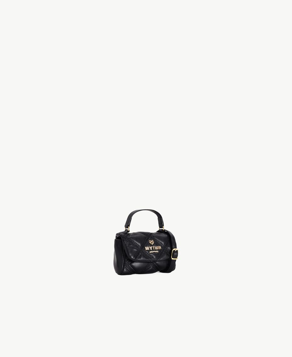 TWINSET Quilted satchel bag Black RA7TEC-02