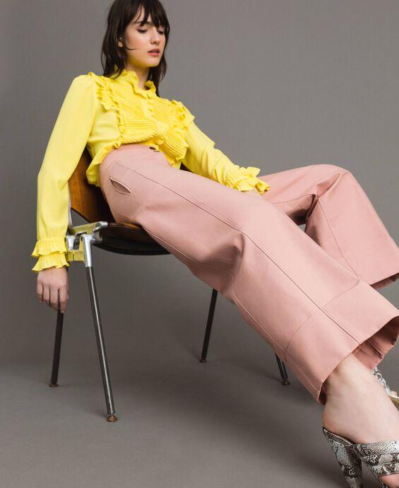 Pantalon en coton technique