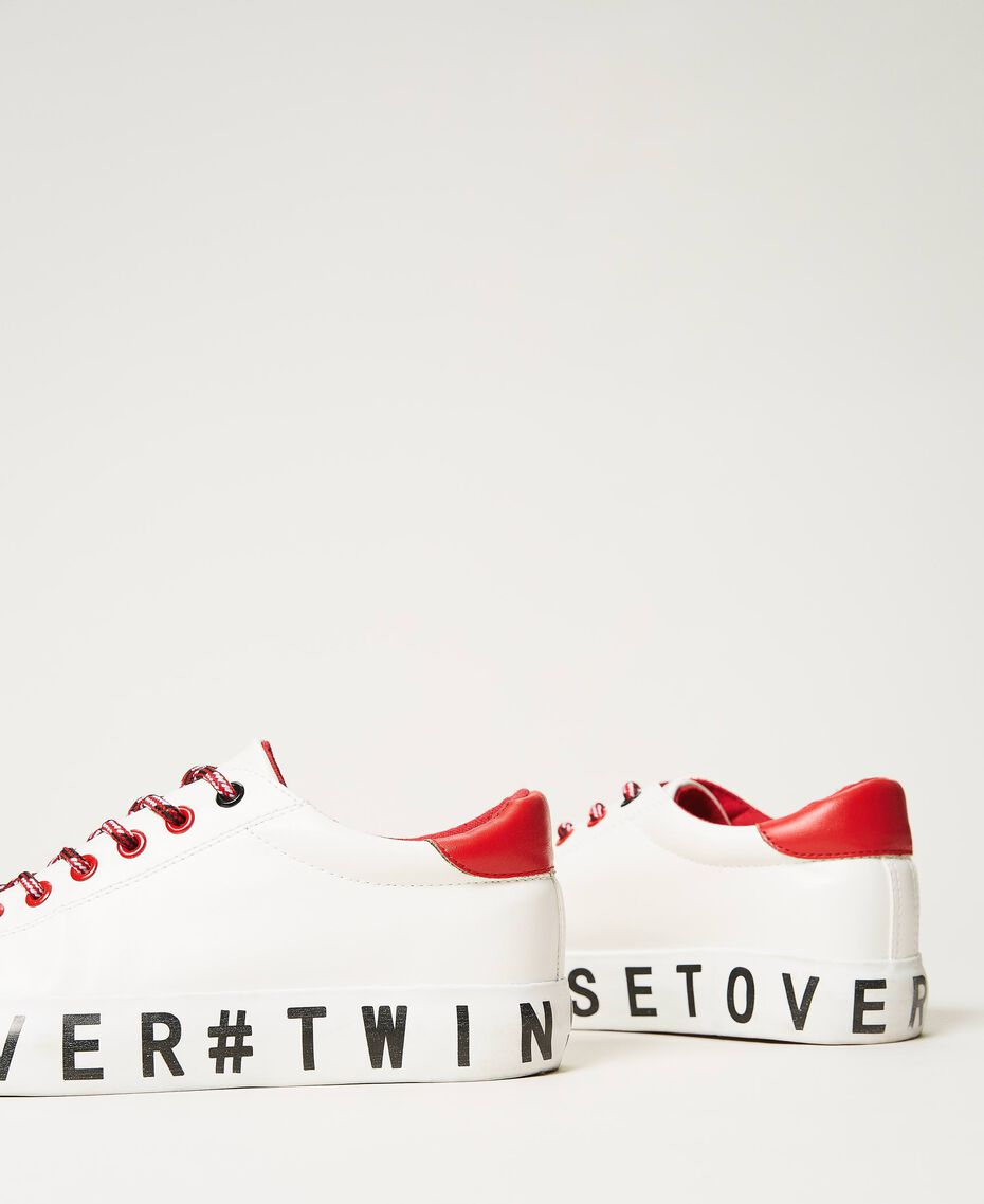 Trainers with logo White Woman 202LIPZCC-03