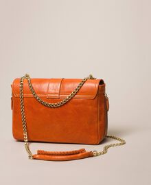 Кожаная сумка через плечо Rebel средних размеров Серый Титан женщина 999TA7233-02