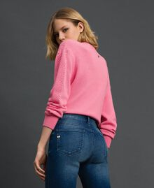 Skinnyjeans im Five-Pocket-Stil Denimblau Frau 192MP2471-04