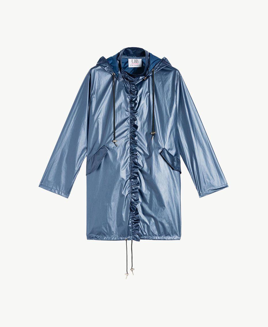 Parka lamée Bleu Dallas Femme LS84BB-01