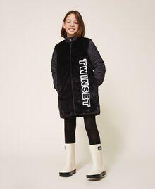 Rain boots with logo Creamy White Child 202GCJ100-0S