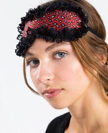 """Máscara con estampado animal print Estampado Rojo """"Rougeatre"""" Leopardo Mujer LA8G00-0S"""