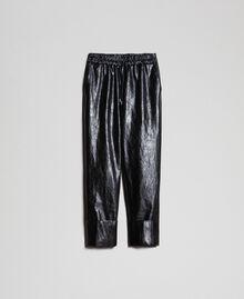 Pantaloni in similpelle Nero Donna 192TP2060-0S
