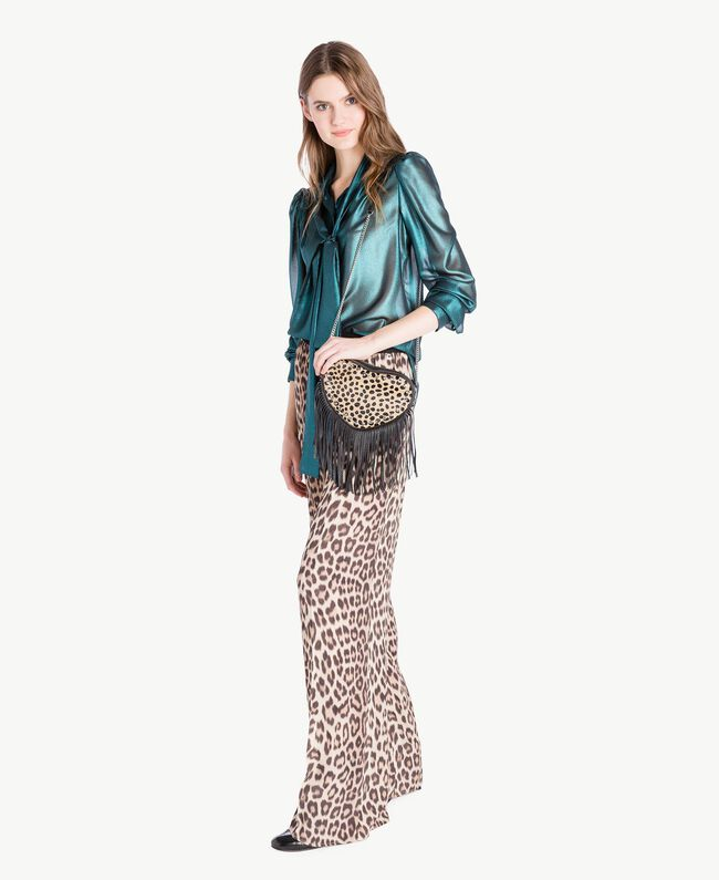Animal print trousers Animal Print Woman PS82VC-05