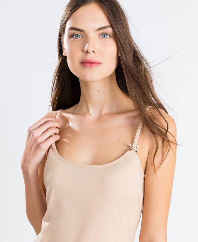 nuisette à bretelles fines Rose Skin Femme LCNNAA-04