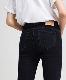 Five-pocket skinny jeans Black Woman 192TP2430-03