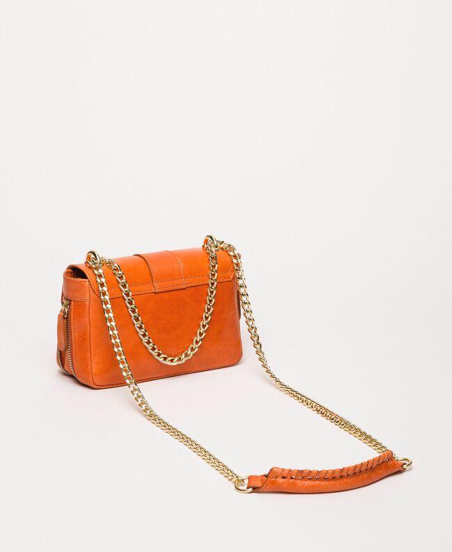 """Маленькая кожаная сумка через плечо Rebel Красный """"Яшма"""" женщина 999TA7237-04"""