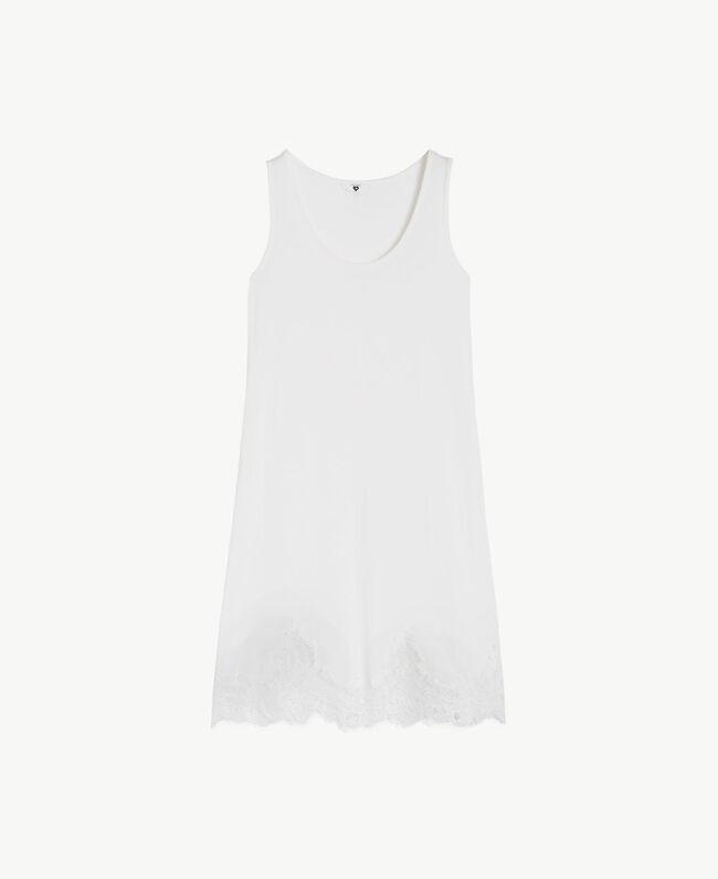 Combinette jersey Ivoire Femme LS8CWW-01