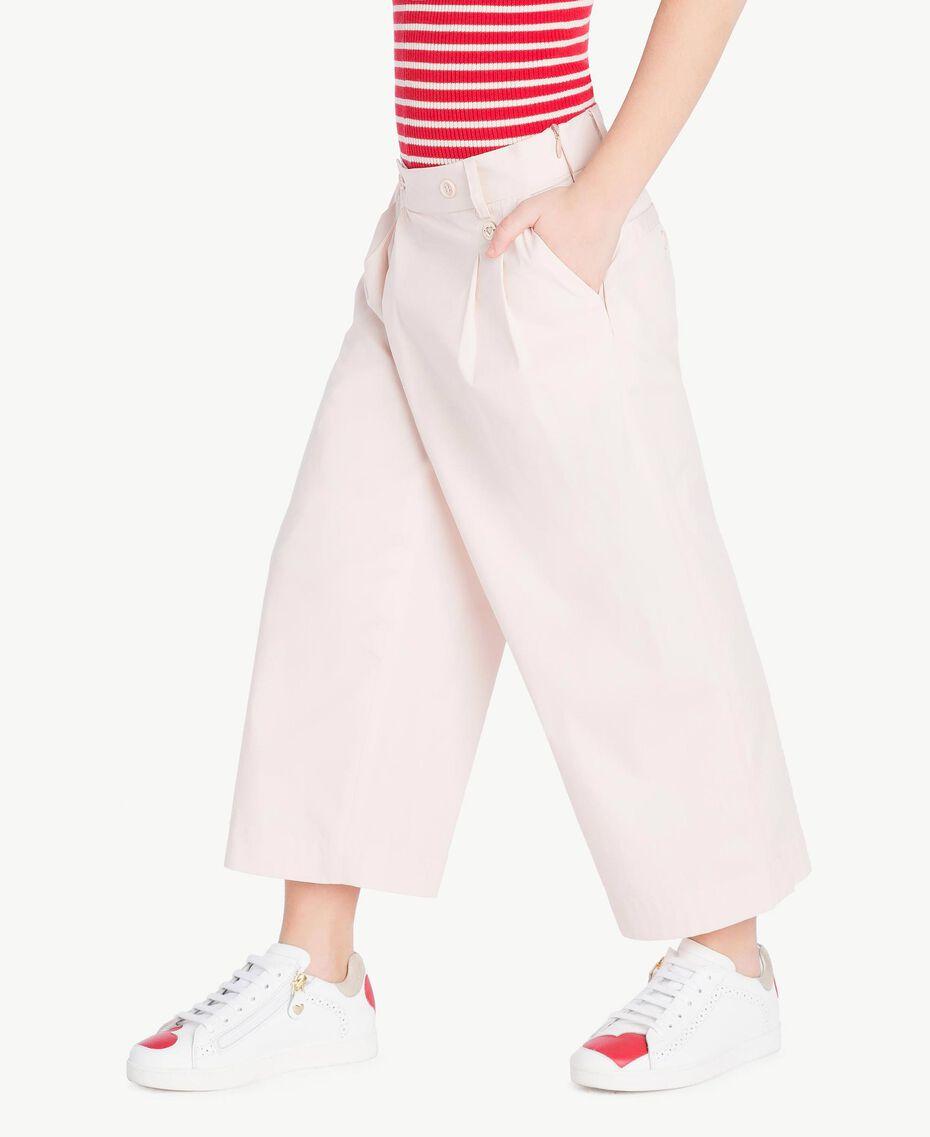 Poplin trousers Bud Pink Child GS82QQ-03