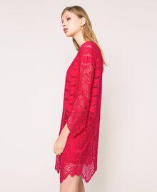 Macramé lace dress Black Woman 201TP2030-02