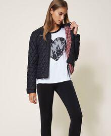 Ultra light quilted puffer jacket Black Woman 202LI2AHH-05