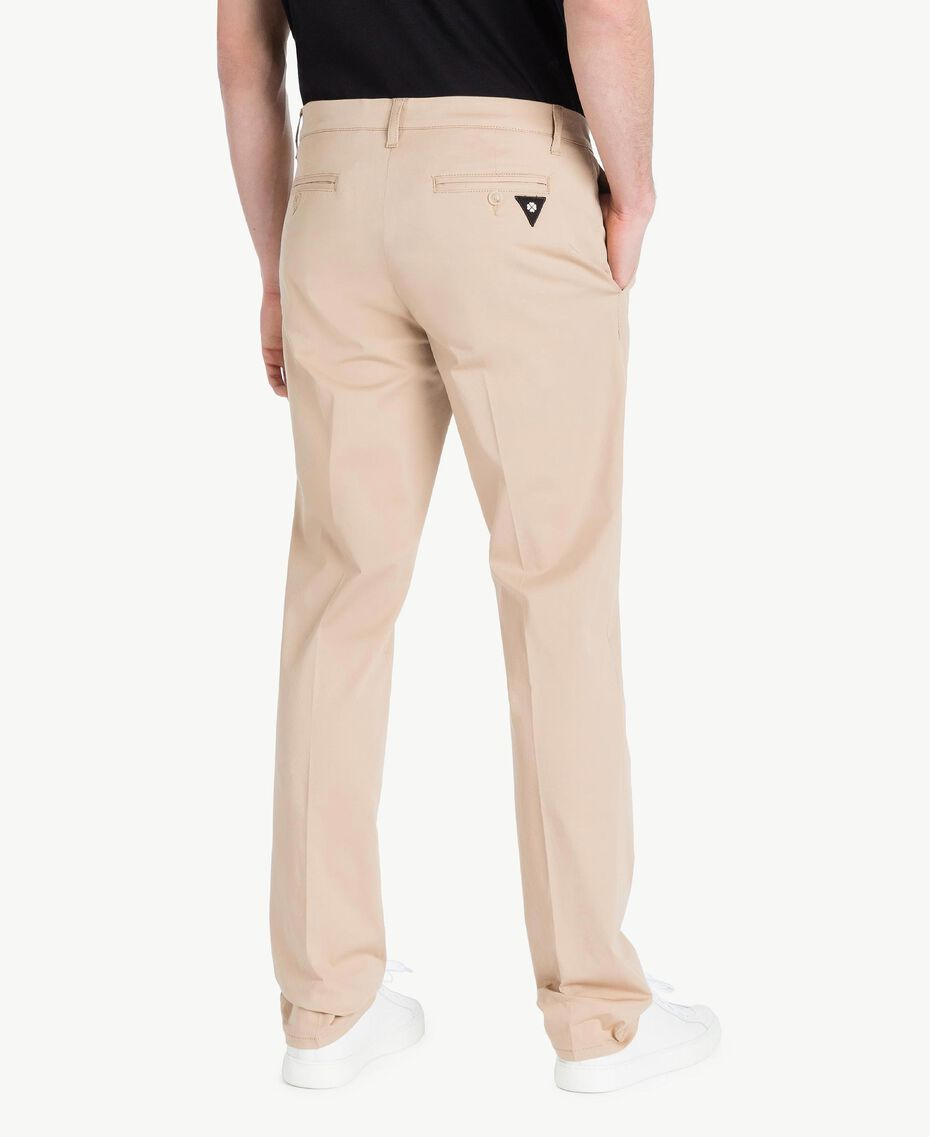 Chino pants Beige Porcelain Man US824N-03