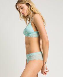"""Padded lace triangle bra """"Daisy Yellow"""" Woman 191LL6B22-02"""