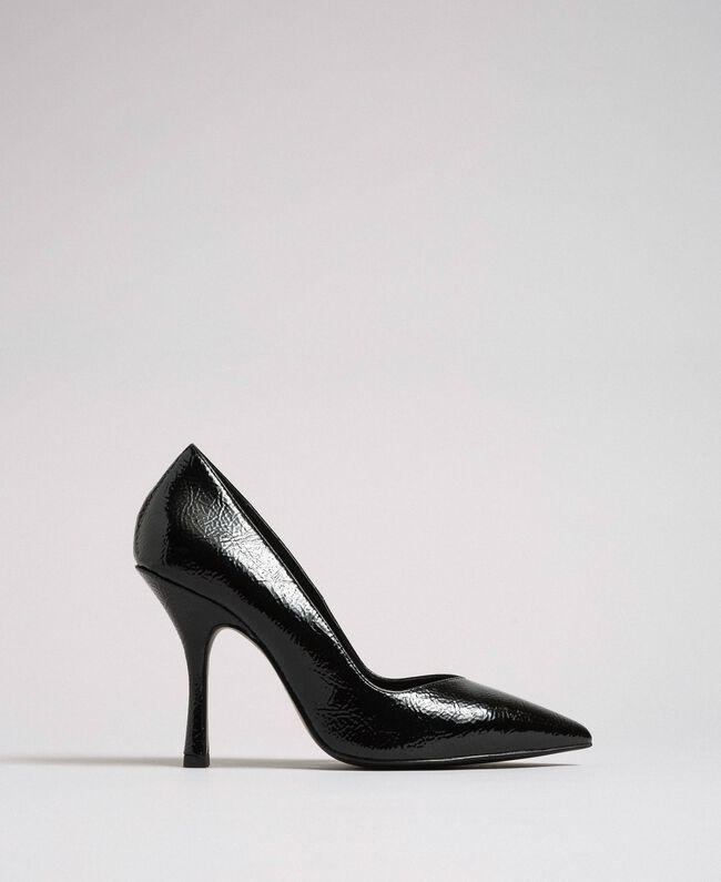 Escarpins vernis Noir Femme 192MCP038-04