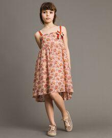 Robe à fleurs en georgette Imprimé Mini-Fleurs Enfant 191GJ2802-0S