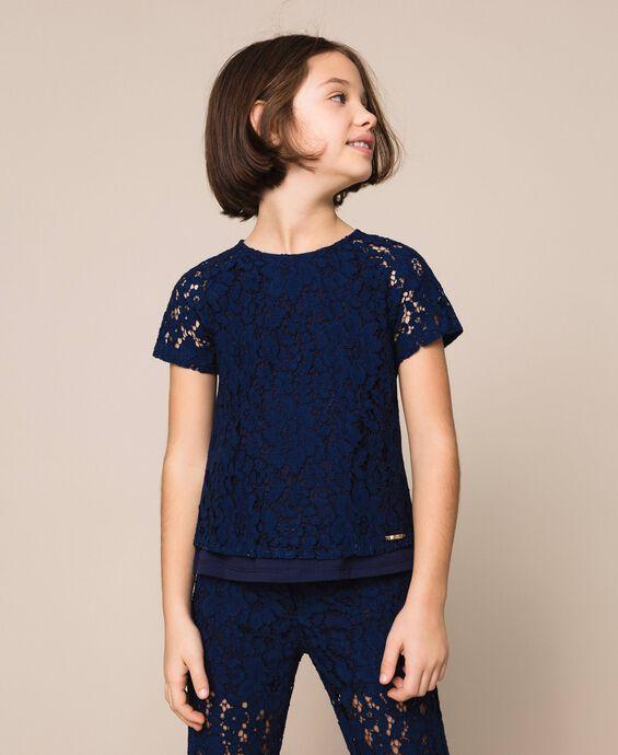 Macramè lace blouse