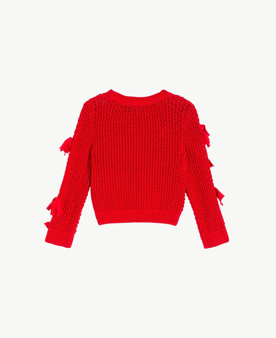 Bow top Pomegranate Red Child FS83BA-02