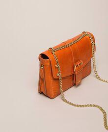 Кожаная сумка через плечо Rebel средних размеров Серый Титан женщина 999TA7233-01