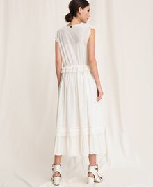Broderie anglaise long dress White Snow Woman 201TP2497-03